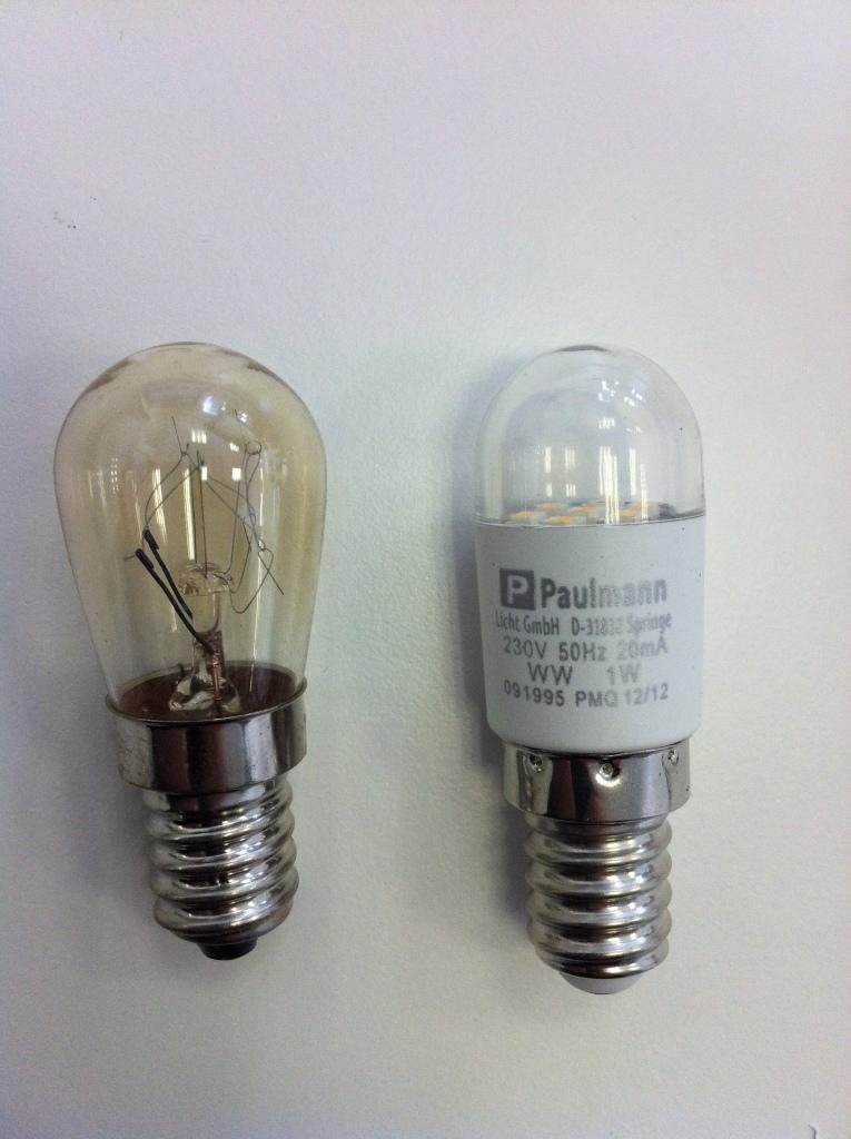 K hlschrank lampe wechseln in 5 schritten for Lampen kontor