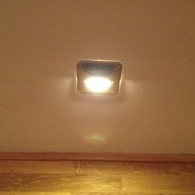 Paulmann LED Wand-Einbauleuchte mit LED-Farbfilter