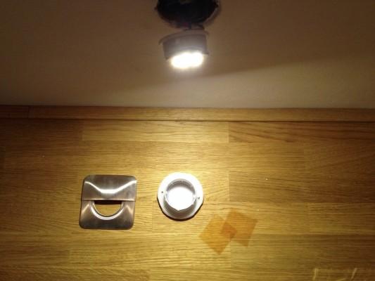 Paulmann LED Wand-Einbauleuchte ausbauen