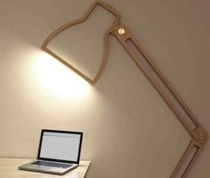 lampe holz. Black Bedroom Furniture Sets. Home Design Ideas