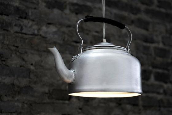 Die teekessel lampe for Lampen kontor