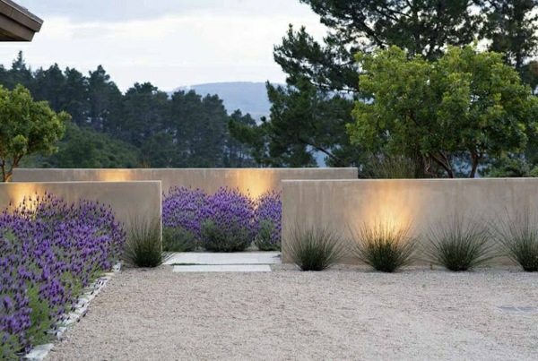 schöne-beton-gartenmauer-design-ideen-beleuchtung - lampen-kontor, Terrassen ideen
