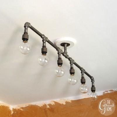 lampen aus rohrleitungen my blog. Black Bedroom Furniture Sets. Home Design Ideas