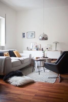 zentraler blickpunkt im raum: hängeleuchten, Wohnzimmer