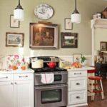 Küchenlampe in einem Retro-Design