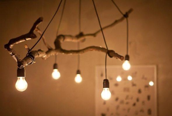 Inspiration Vier Holzlampen Diy Ideen Zum Nachbasteln