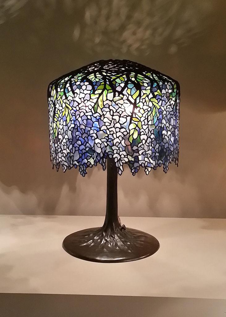 Jugendstil-Lampe von Tiffany