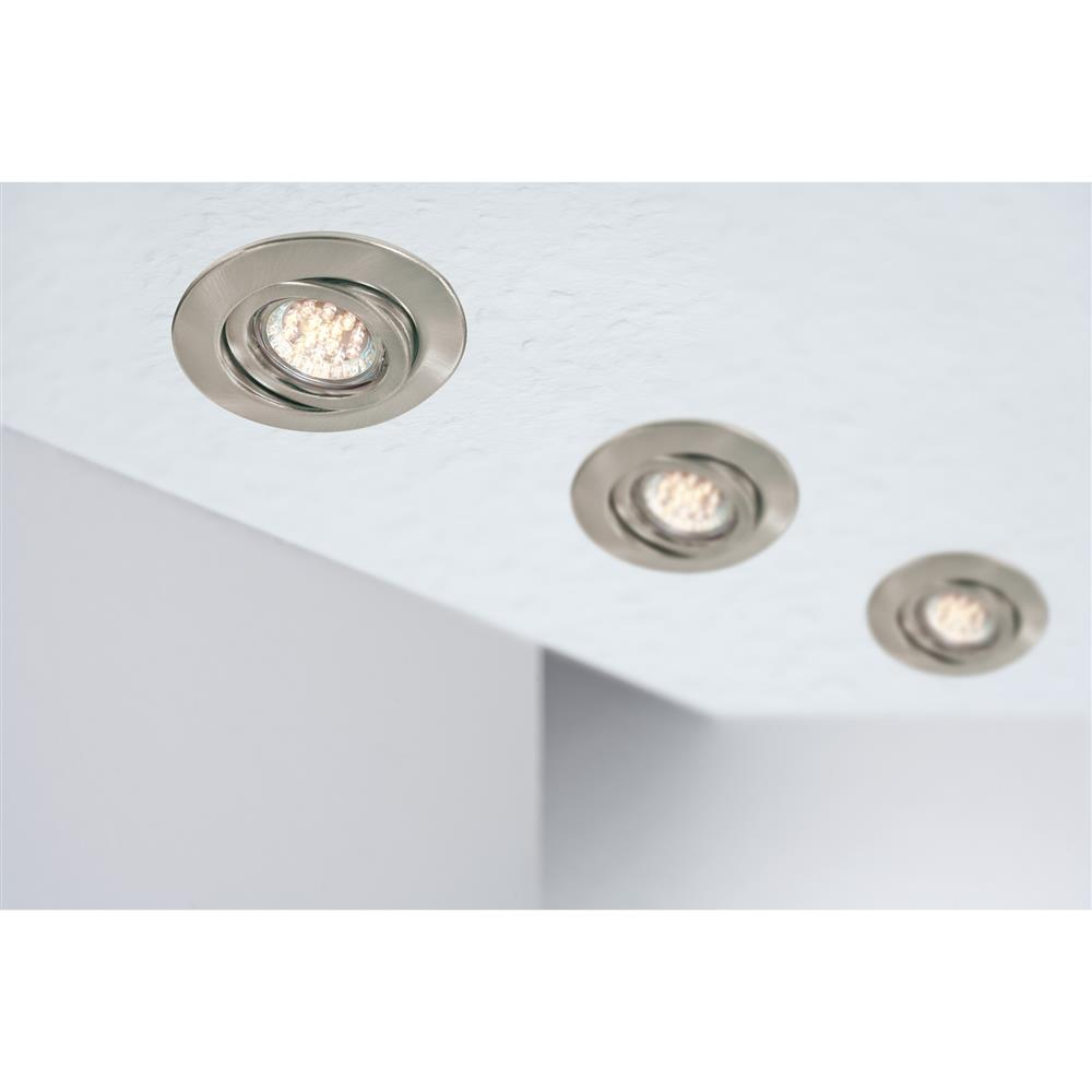 Paulmann quality ebl einbauleuchte set schwenkbar led 1 for Lampen kontor