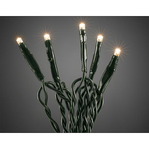 Micro LED-Lichterkette 35 flg. ww, grüne