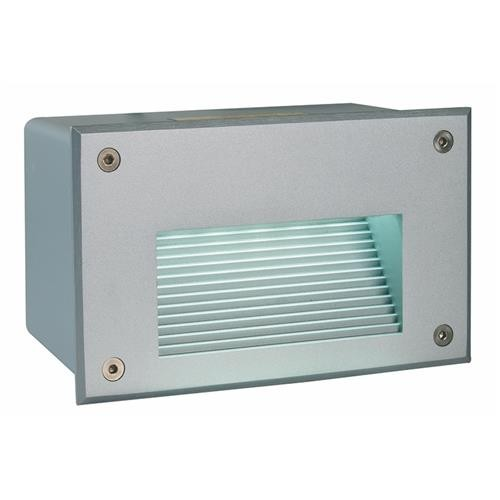 Deko-Light Wandeinbauleuchte LED Side 2 silber LED kalt