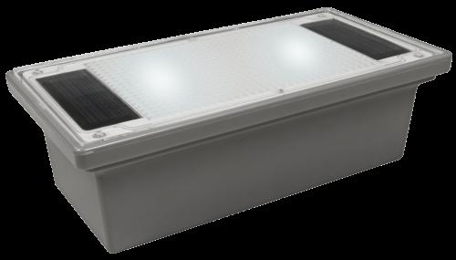 McShine Solar LED-Bodenleuchte McShine ''Pflasterstein'' 20x10x6cm, IP68