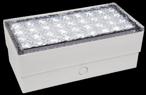 McShine LED-Bodenleuchte McShine ''Pflasterstein'' 20x10x7cm, 180lm,IP65, neutralweiß,230V