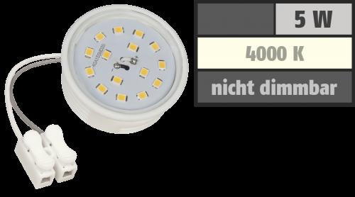 McShine LED-Modul McShine, 5W, 400 Lumen, 230V, 50x23mm, neutralweiß, 4000K