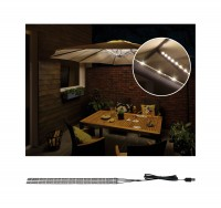 Paulmann Outdoor Mobile Parasol-lighting IP44 3000K 4x